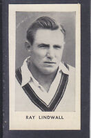 Thomson - The World's Best Cricketers 1958 - # 4 Ray Lindwall - Queensland
