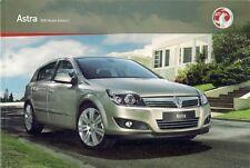 Vauxhall Astra Hatchback Sport Hatch & Estate 2009-10 UK Market Sales Brochure
