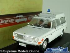 VOLVO 145 EXPRESS AMBULANCE MODEL CAR 1:43 SCALE IXO ATLAS 7495007 WHITE ESTA K