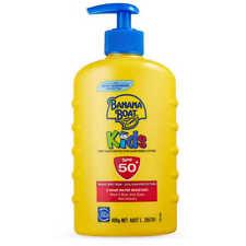 Banana Boat Sunscreen Lotion Kids SPF 50 400g