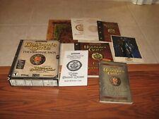 Baldur's Gate The Original Saga PC Box, manuals and inserts - No Game