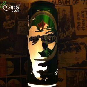 Steven Gerrard Beer Can Lantern! Liverpool FC Pop Art Portrait Lamp, Unique Gift