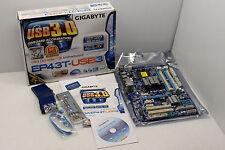 GigaByte GA-EP43T-USB3, LGA775, Intel P43, DDR3, USB 3.0, BRAND NEW IN BOX