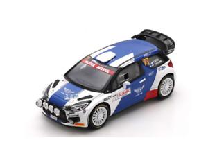 1/43 Spark Citroën DS3 WRC PH Sport N°77 Arctic Lapland V.Bottas T. Rautiainen