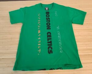 Express NBA Boston Celtics Green Pocket Tee Medium T-Shirt