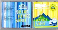 2006 103.7 FM THE MOUNTIAN KMTT NEW MUSIC SAMPLE CD
