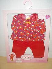 "Corolle Baby Doll Poupon 14""-15"" Cherry Pants Set W9037-0  Classiques Collection"