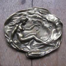 Art Deco Brass Pin Tray / Trinket Dish
