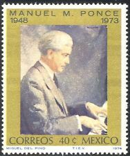 Mexico 1974 Manuel Ponce/Composer/Music/Musicians/People/Piano 1v (n42893)