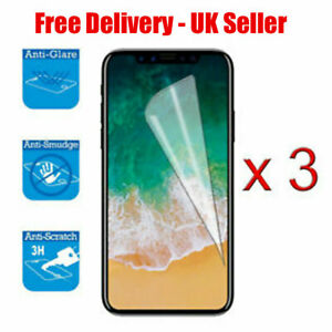 3x SCREEN PROTECTOR COVER GUARD FILM FOR APPLE IPHONE X/XS NEW