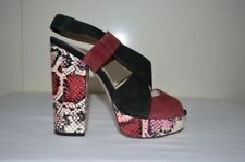 Block Heel Animal Print Platforms & Wedges Heels for Women