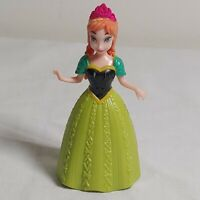 Disney FROZEN PRINCESS ANNA Magic Clip Magiclip Polly Pocket Dolls Dress