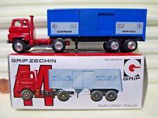 Grip Zechin EIDAI Corp Japan #44 ISUZU CARGO EXPRESS TRACTOR TRAILER withCatalog