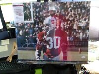 JAMES LOFTON AUTOGRAPHED SIGNED INSCRIBED STANFORD CARDINALS 16x20 PHOTO JSA COA