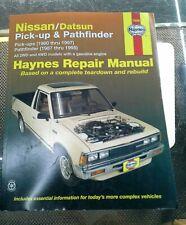 Haynes Repair Manual:Nissan/Datsun Pick-Up&Pathfinder.1980-97&1987-95.72030,4102