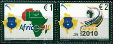 Kosovo Stamps 2010. World Championship Football FIFA - South Africa. Set MNH.