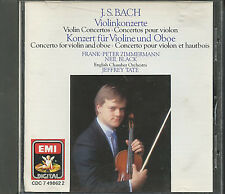 Bach Conceerto per violino CD Frank Peter Zimmermann