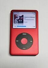 Apple iPod Classic 7th Generation Custom Red (160GB) - 512GB SSD Upgrade