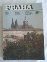 Praha  1977/8 Prag Speisen - Getränke - Unterhaltung, mehrsprachiger Führer