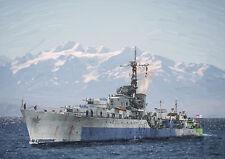 HMS HOGUE -  LIMITED EDITION ART (25)