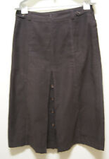 SPORTSCRAFT SKIRT BROWN MIDI SKIRT, Sz 12
