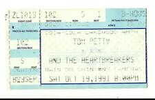 1991 TOM PETTY Used Full Concert Ticket: Into The Great Wide Open Tour: Atlanta