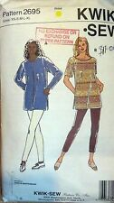 Kwik sew sewing pattern no. 2695 Ladies leggings & top size XS, S,Medium