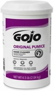 Gojo 1135-06 Original Pumice Hand Cleaner 4.5lb, 1 Pack