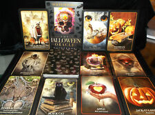 SEALED BRAND NEW HALLOWEEN ORACLE CARDS & BOOK BLACK CATS VAMPIRES WITCHES WICCA