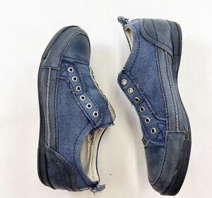 Aldo Slip On Sneakers Shoes Men Size 10 Blue