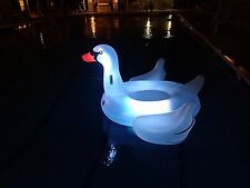 Giant Inflatable Pool Float Lounger Swan Large Floating Fun Party Ride On Toy