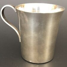 Vintage Tiffany & Co. Makers Sterling Silver Baby Cup 22499 L Mid Century