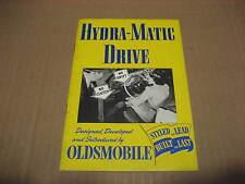 1940's Oldsmobile Hydra-Matic Drive Brochure