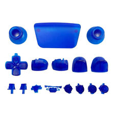 Full button set for Sony PS5 controller mod set - Clear Blue | ZedLabz