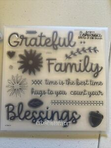 CTMH Close to My Heart Stamps S1911 Family time New