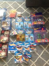 Star Wars Marvel Hot wheels Pokemon Caps Vintage Collection Lot Of 23 Unopened!