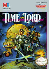 Framed NES Nintendo Gaming Print – Time Lord (Picture Poster SNES Game Art)