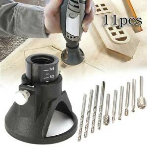 HSS Routing Router Drill Bits Set Wood Stone Metal Root Carving Milling Cutter