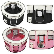 Pet Dog Cat Tent Playpen Exercise Playpen Soft Cage Fence Travel Outdoor Folding