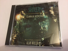 CLUBHOUSE DETECTIVES aka SHIVERS (Alan Williams) OOP Soundtrack Score OST CD NM