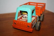 Vintage Early 1960's Fisher Price Stake Truck #649 - Pull Toy