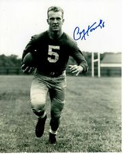 PAUL HORNUNG Signed Autographed NFL GREEN BAY PACKERS Photo