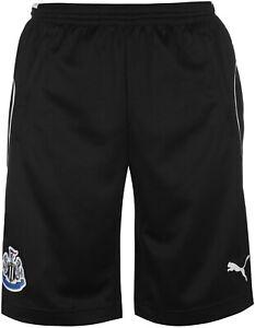 Puma Newcastle United 2017/18 Junior Training Shorts - Black