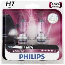 Headlight Bulb-VisionPlus - Twin Blister Pack Front PHILIPS H7VPB2