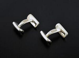 Vintage 1997 Tiffany & Co 1837 925 Sterling Silver Bar Cufflinks