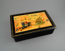1960s Quality Russian Lacquer Box MSTERA - Ruslan Confronts the Head,Giant Head