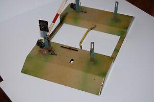 Blechspielzeug -Alte Schrankenanlage, Made in U. S. Zone RARE