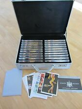 LA COLLECTION JAMES BOND  - EDITION SPECIALE 2006  -- COFFRET COLLECTOR VALISE
