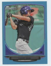 2013 Bowman Draft Blue David Dahl 185/500 #TP7 Top Prospect Rockies