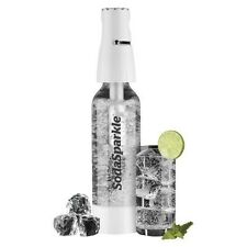 Soda sparkle wassersprudler starter set incl. bouteille et co2 Cartouches Blanc